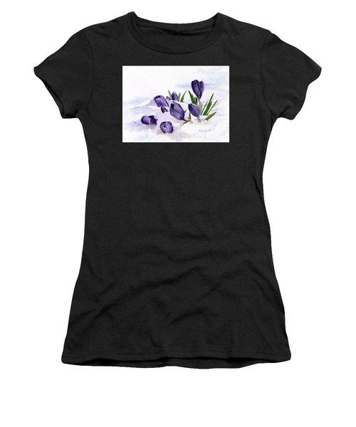 Early Spring In Montana Women's T-Shirt