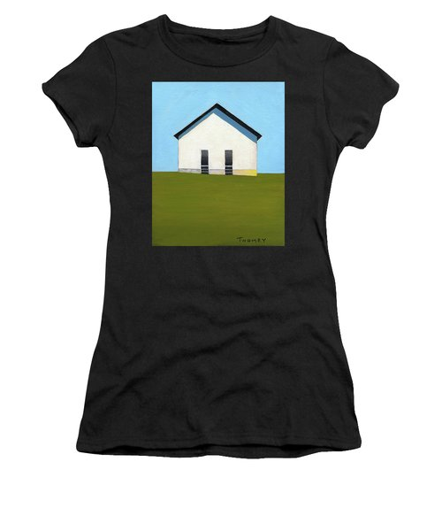 Earlysville Baptist Church Women's T-Shirt (Athletic Fit)