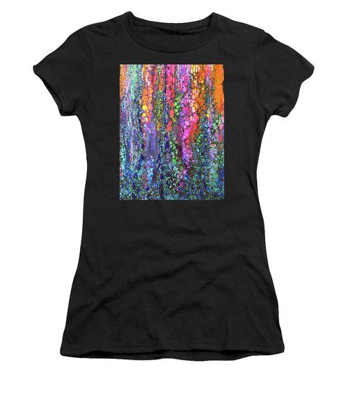 Earth Gems #18w02 Women's T-Shirt (Athletic Fit)