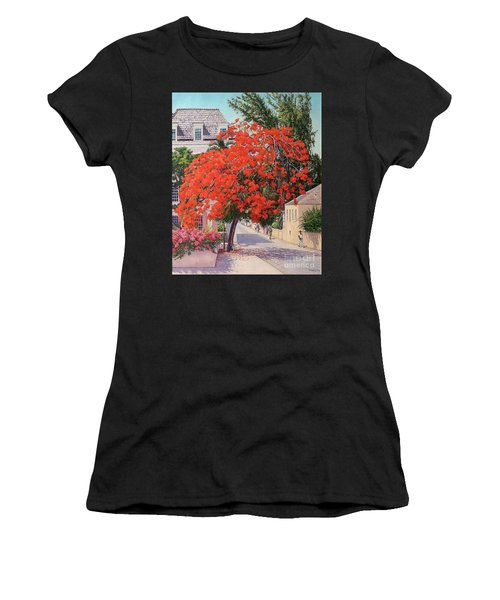 East And Shirley Street Women's T-Shirt