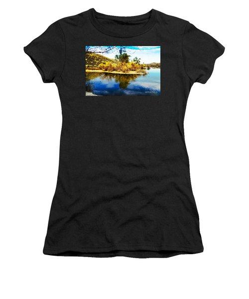 East Bay, Canyon Lake, Ca Women's T-Shirt
