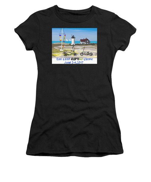 East Coast Elliptigo Classic  Opus 3 Women's T-Shirt (Athletic Fit)