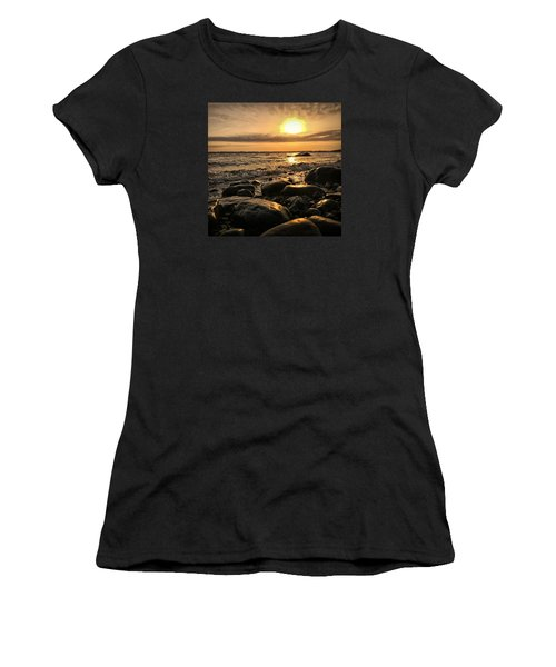 East Coast Sunset 1 Women's T-Shirt (Athletic Fit)