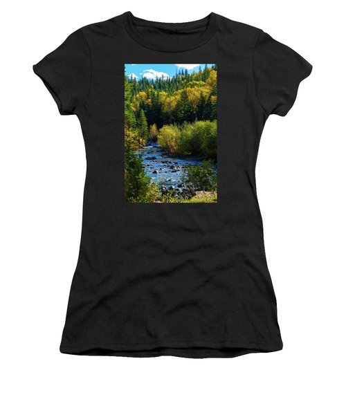 East Fork Autumn Women's T-Shirt (Athletic Fit)