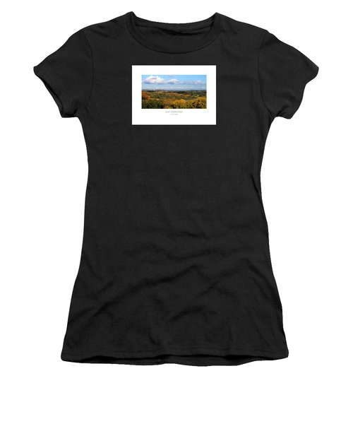 Women's T-Shirt featuring the digital art East Grinstead by Julian Perry