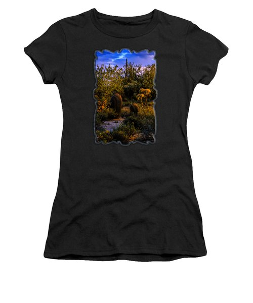East Of Sunset V40 Women's T-Shirt (Athletic Fit)
