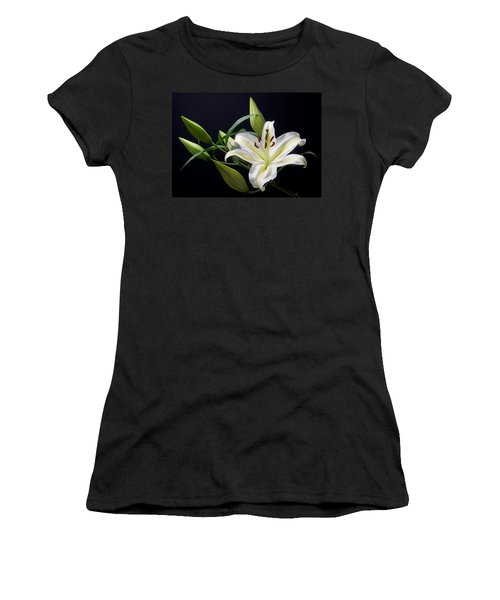 Easter Lily 3 Women's T-Shirt (Athletic Fit)