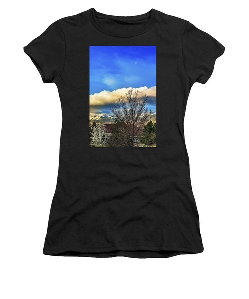 Easter Morning Moon Women's T-Shirt