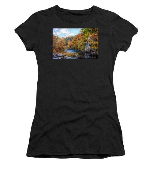 Eau Claire Dells Fall 2 Women's T-Shirt (Athletic Fit)
