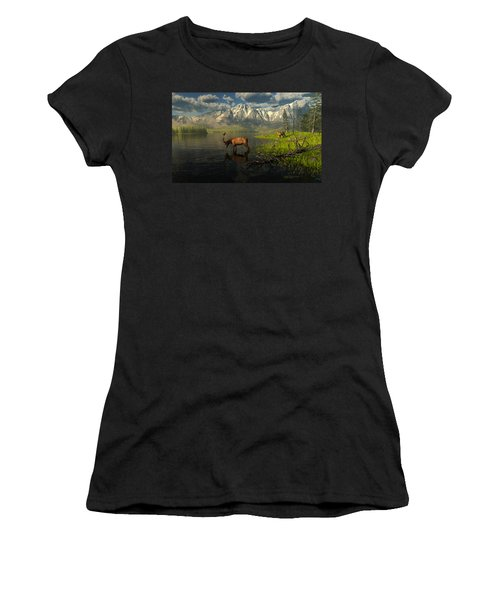 Echoes Of A Lost Frontier Women's T-Shirt