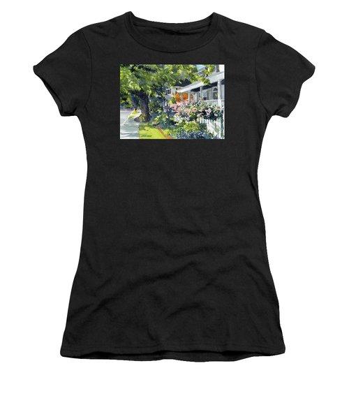 Edenton Floral Women's T-Shirt (Athletic Fit)