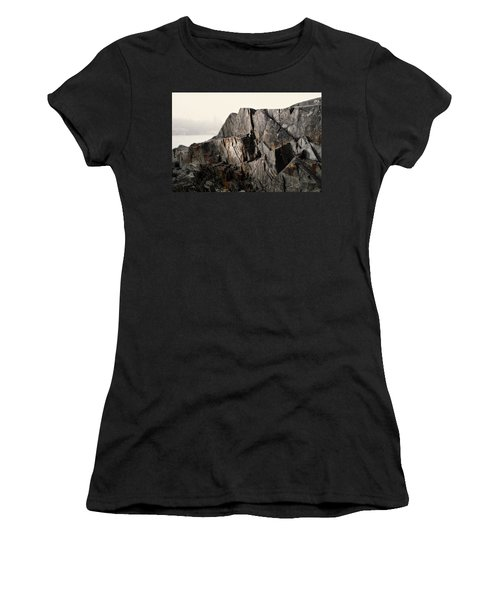 Women's T-Shirt featuring the photograph Edge Of Pukaskwa by Doug Gibbons