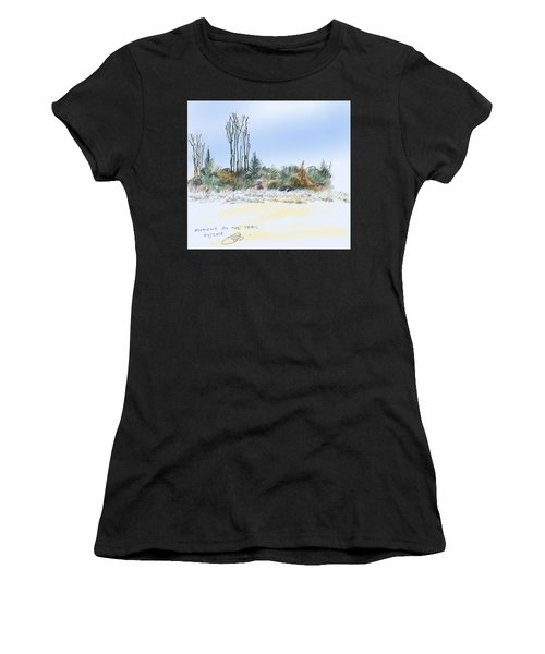 Edge Of The Okefenokee Women's T-Shirt (Athletic Fit)