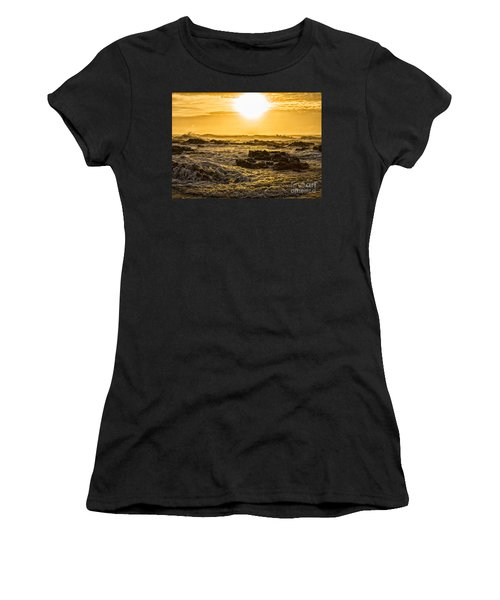 Edge Of The World Women's T-Shirt (Athletic Fit)