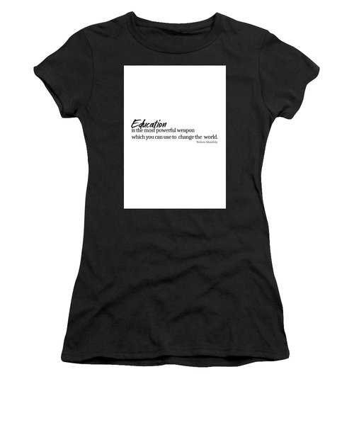 Education #minimalism Women's T-Shirt