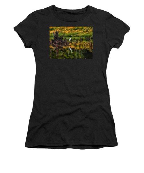 Egret Art  Women's T-Shirt