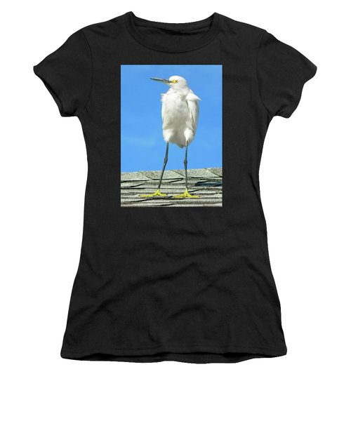 Egret Focused And Poised Women's T-Shirt