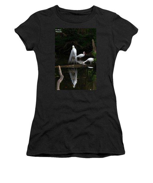 Egret Reflection Women's T-Shirt