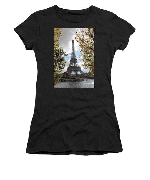 Eiffel From Avenue De New York Women's T-Shirt