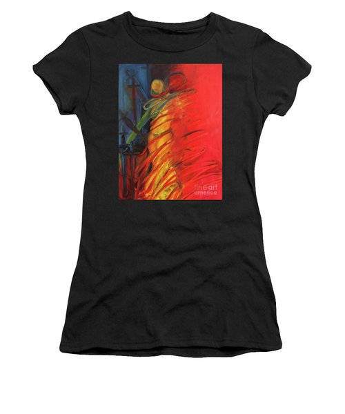 Eight Of Swords Women's T-Shirt (Athletic Fit)