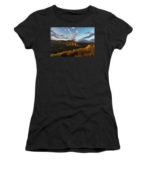 El Cajon Mountain Last Light Women's T-Shirt