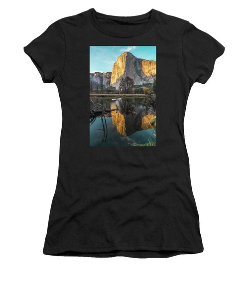 El Capitan Sunset Women's T-Shirt