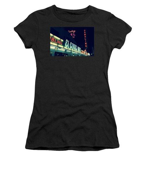 El Cortez Hotel At Night Women's T-Shirt