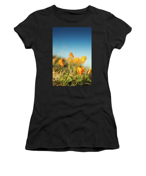 El Paso Poppies Women's T-Shirt (Athletic Fit)