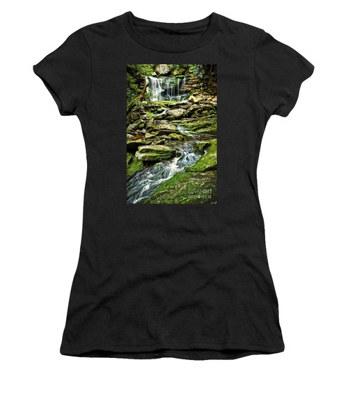 Elakala Falls At Blackwater Falls State Park Women's T-Shirt