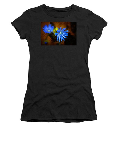 Electric Blue Women's T-Shirt (Athletic Fit)