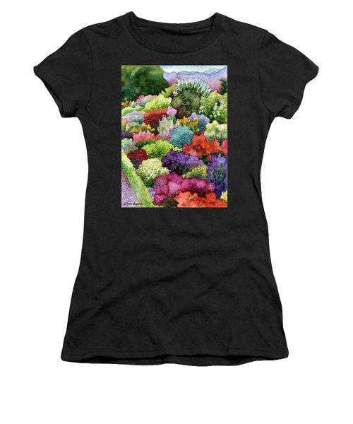Electric Garden Women's T-Shirt (Athletic Fit)