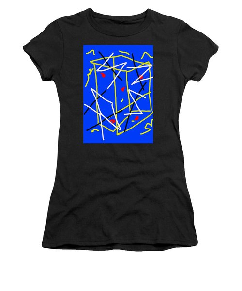 Electric Midnight Women's T-Shirt (Athletic Fit)