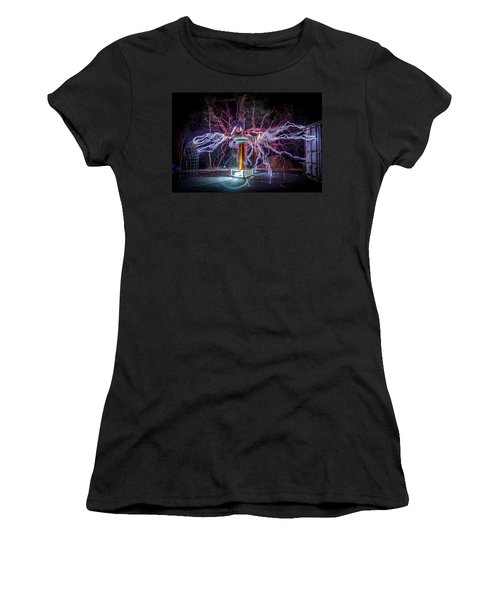 Electric Spider Women's T-Shirt (Athletic Fit)
