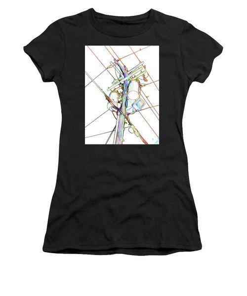 Electricity Post  Women's T-Shirt