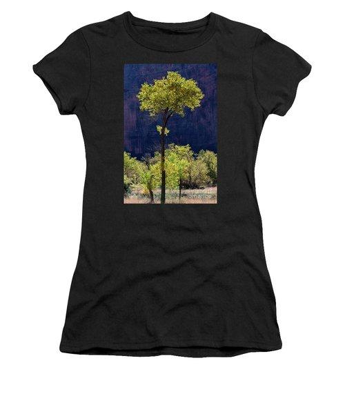 Elegance In The Park Utah Adventure Landscape Photography By Kaylyn Franks Women's T-Shirt