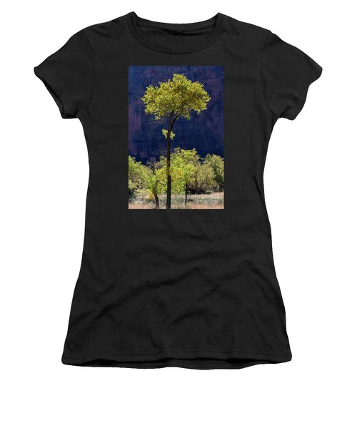 Elegance In The Park Utah Adventure Landscape Photography By Kaylyn Franks Women's T-Shirt