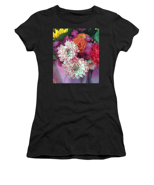 Elegant And Romantic Women's T-Shirt (Athletic Fit)