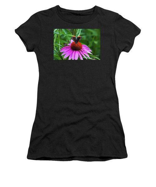 Elegant Butterfly Women's T-Shirt (Athletic Fit)
