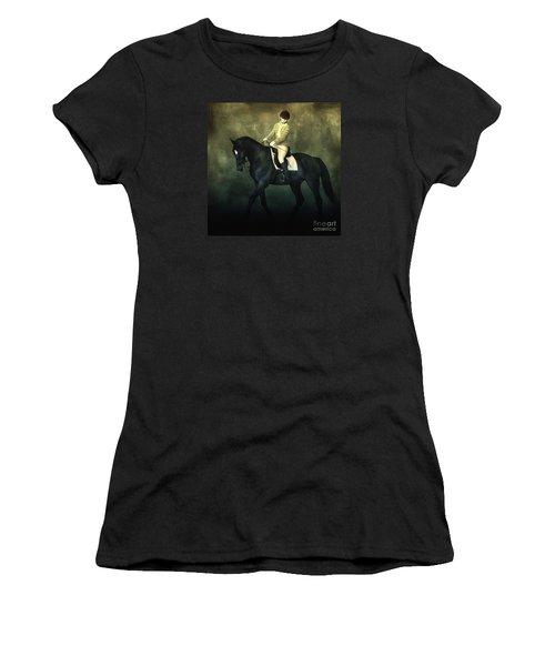 Elegant Horse Rider Women's T-Shirt
