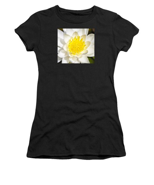Elegant Lotus Women's T-Shirt (Athletic Fit)
