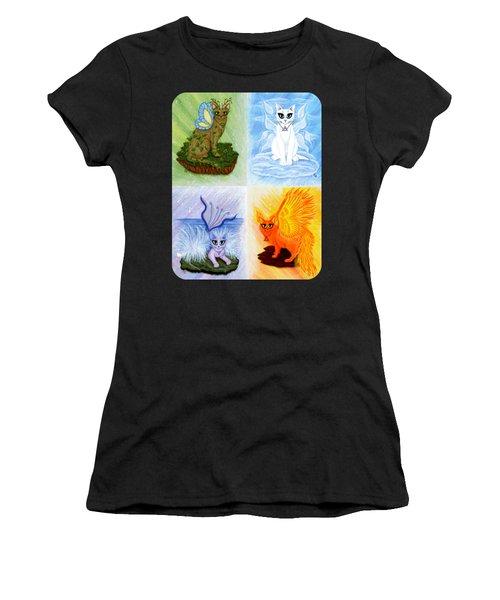 Elemental Cats Women's T-Shirt