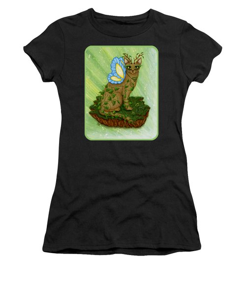 Elemental Earth Fairy Cat Women's T-Shirt