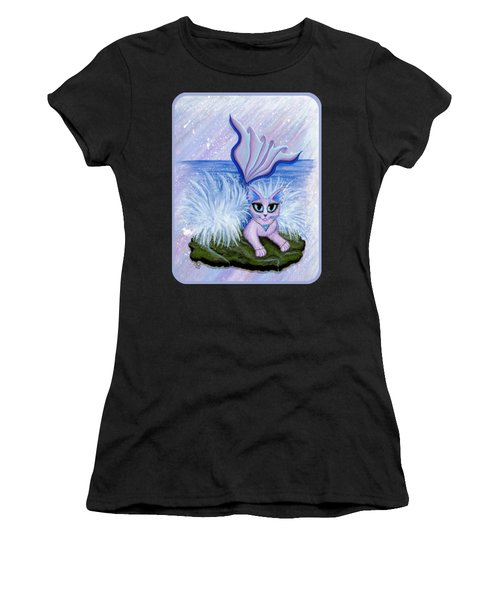 Elemental Water Mermaid Cat Women's T-Shirt