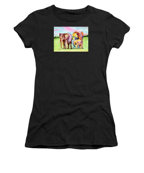 Elephant Aura Women's T-Shirt