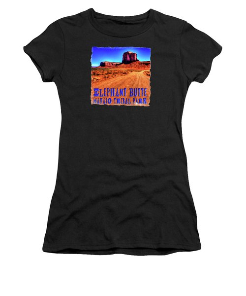 Elephant Butte Monument Valley Navajo Tribal Park Women's T-Shirt (Athletic Fit)