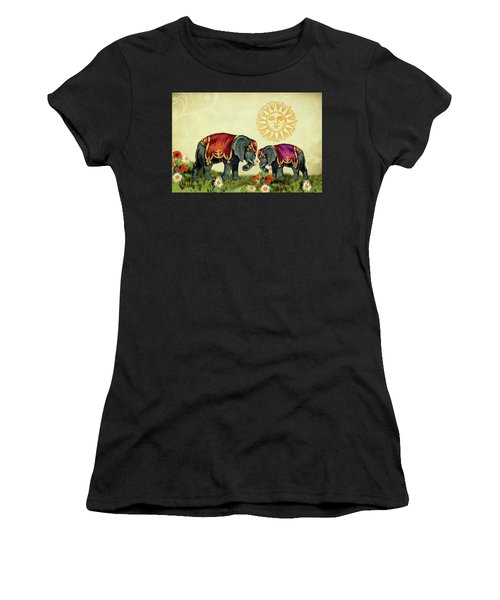 Elephant Love Women's T-Shirt