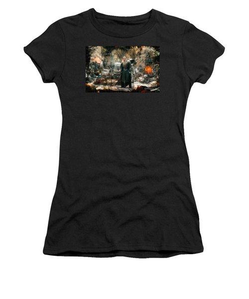 Elf King Thranduil  Women's T-Shirt (Athletic Fit)