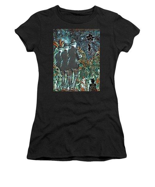 Elite Hide And Seek Women's T-Shirt (Athletic Fit)