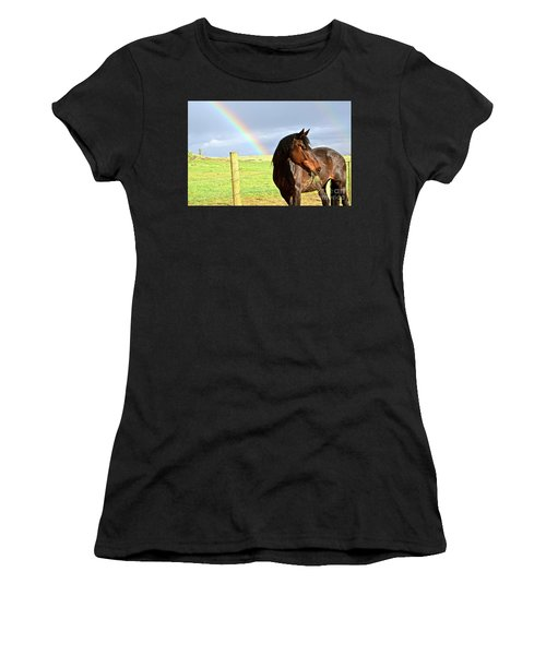 Ella And The Rainbows Women's T-Shirt