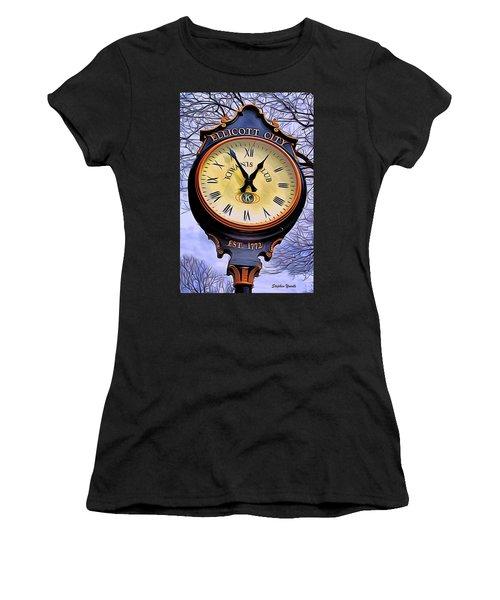 Ellicott City Clock Women's T-Shirt